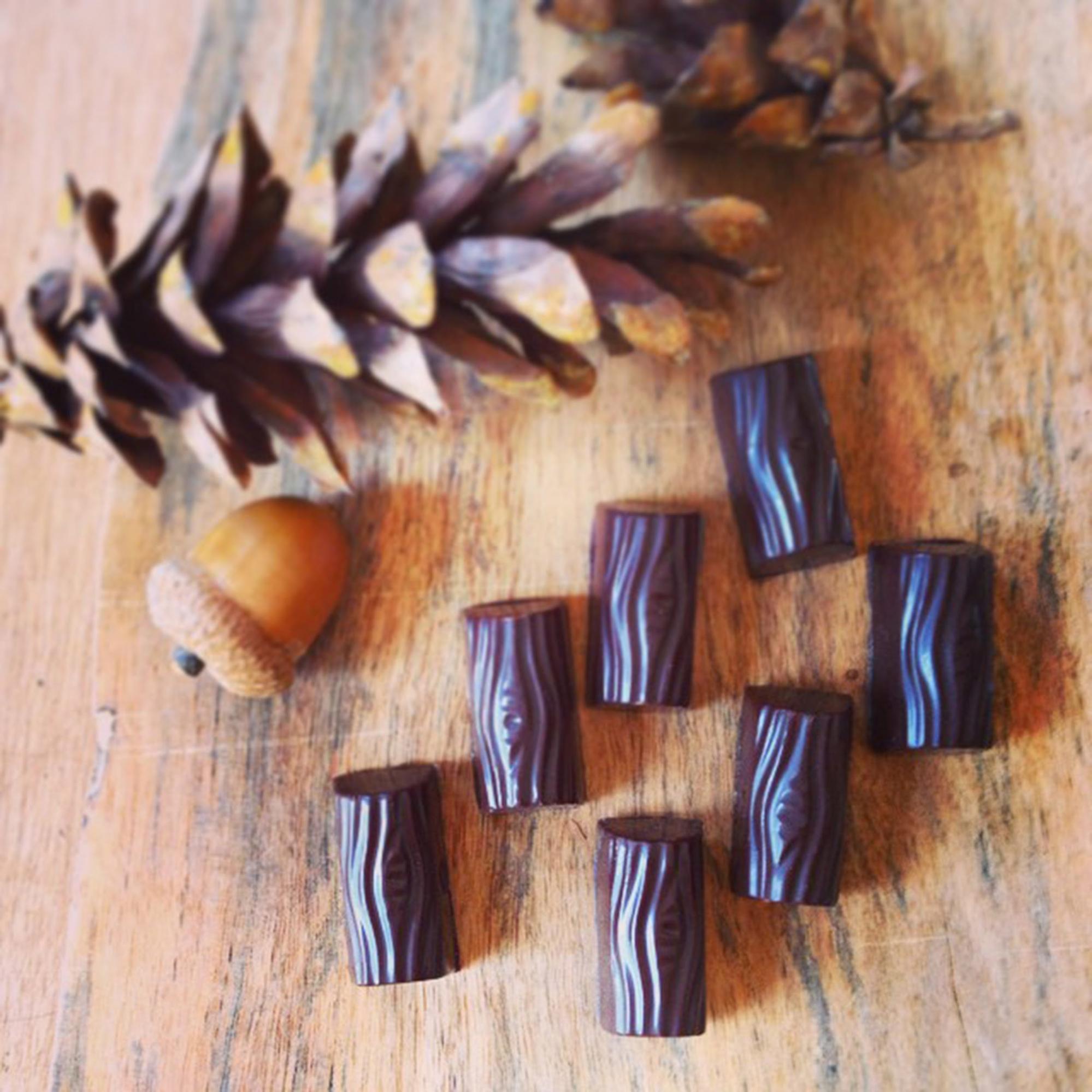 Caramelized Maple Sugar Logs